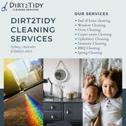 End of lease cleaning Sydney - Dirt2tidy