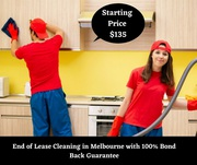 End of Lease Cleaning in Melbourne with 100% Bond Back Guarantee